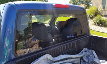 Shattered Back Window on my Truck