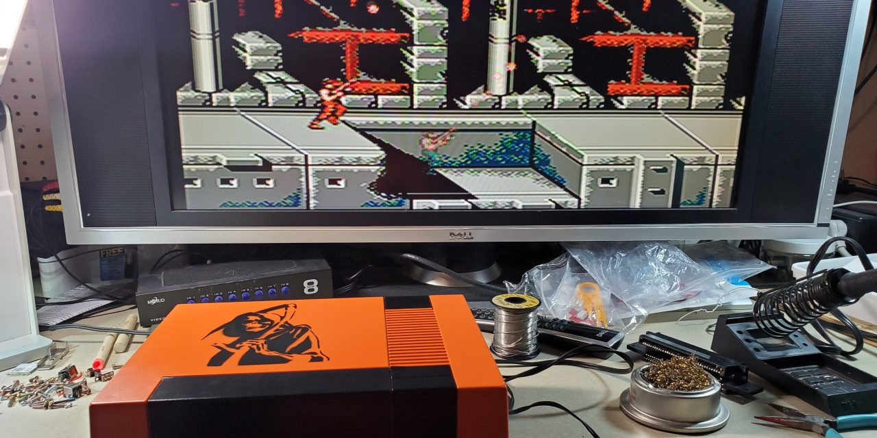 Custom NES Halloween Case