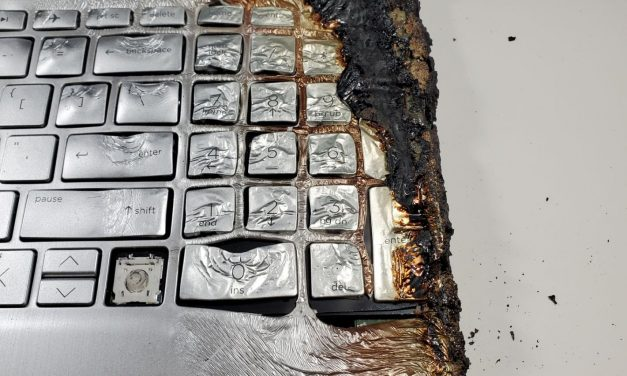 Super Burnt Laptop